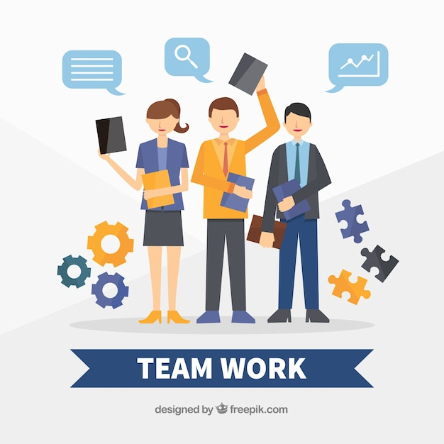 working as a team How can the answer be improved.