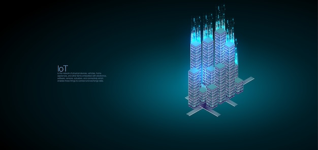Perfect for web design, banner and presentation. data analysis and visualization isometric Premium Vector