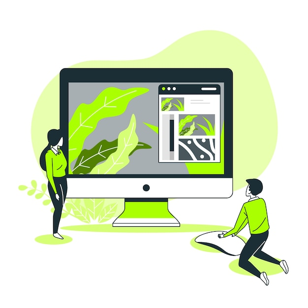 Illustrazione del concetto di personalizzazione Vettore gratuito