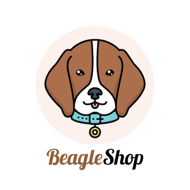 ペットのロゴデザイン 無料ベクター