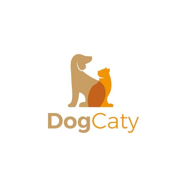 Pet logo vector Premium Vector