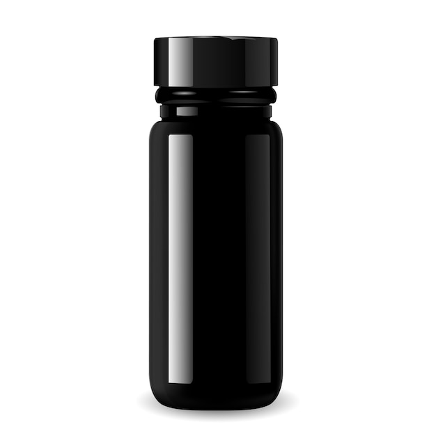 Pharmacy bottle for medical products Premium Vector