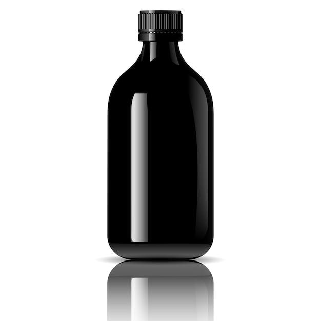 Pharmacy bottle for medical Premium Vector