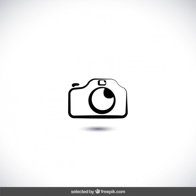 Photo camera icon Free Vector
