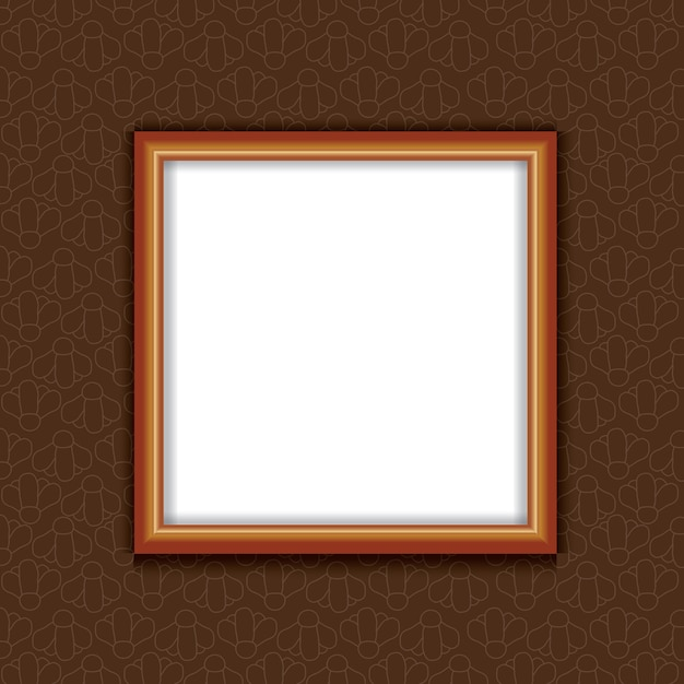 Photo frames mockup Premium Vector