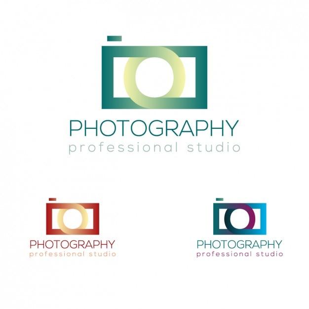 Photographic camera logo Vector | Free Download