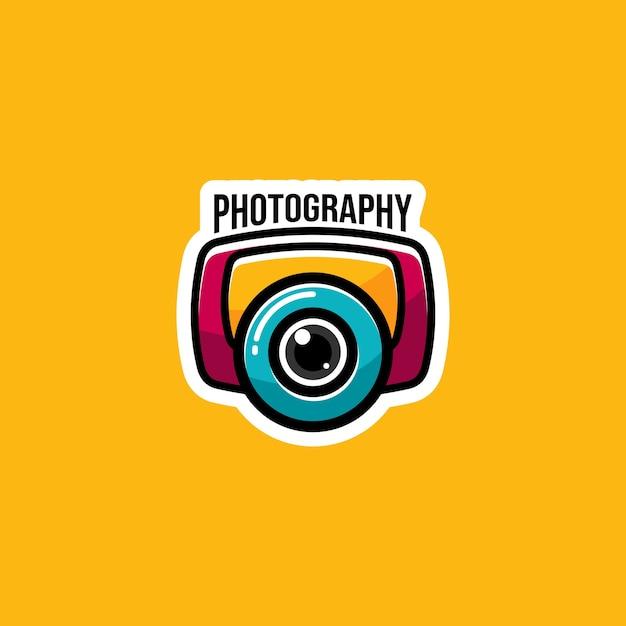 Photography logo Premium Vector