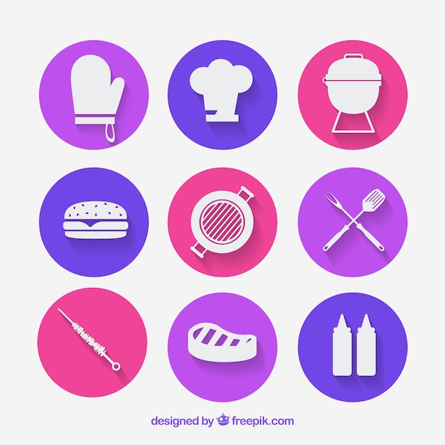 Picnic and Barbecue icons