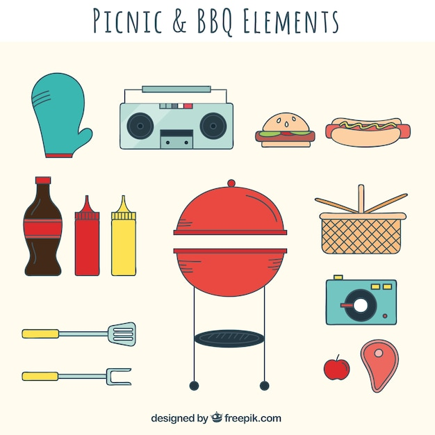 Picnic and bbq equipment