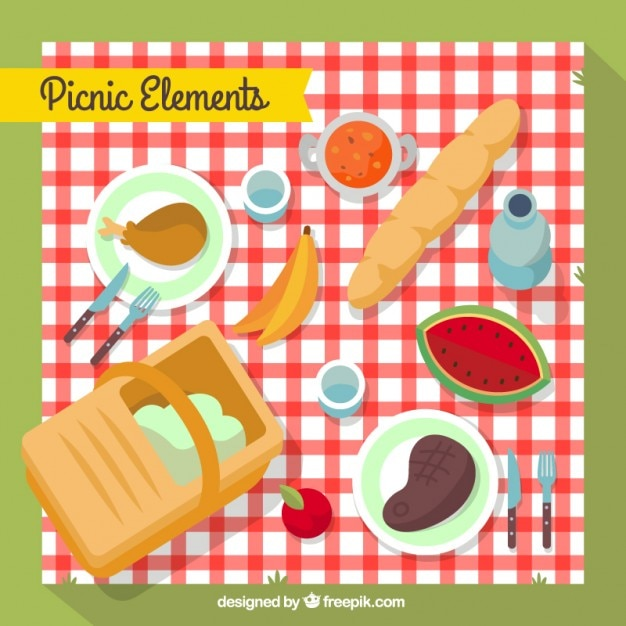 Picnic element collection