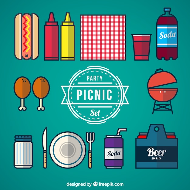 Picnic party set
