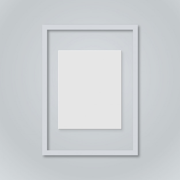 picture frame template free vector