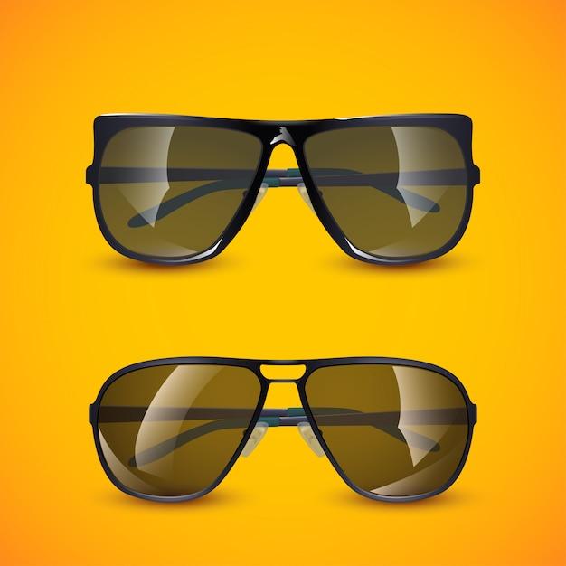Изображение солнцезащитных очков Premium векторы
