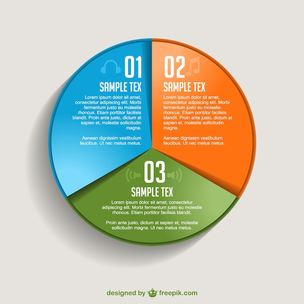 Pie chart infographic vector free download pie chart infographic free vector gumiabroncs Gallery