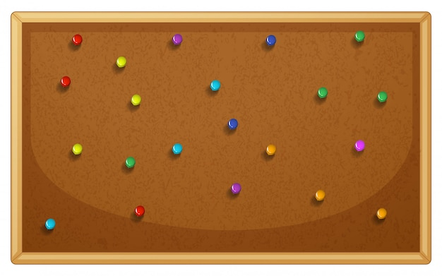 Pinboard Free Vector