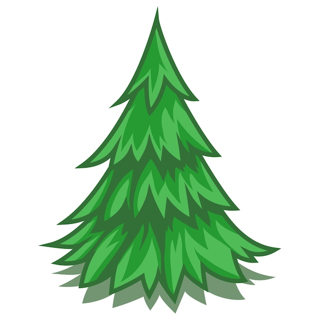 Pine Tree Symbol Cartoon Vector Premium Download