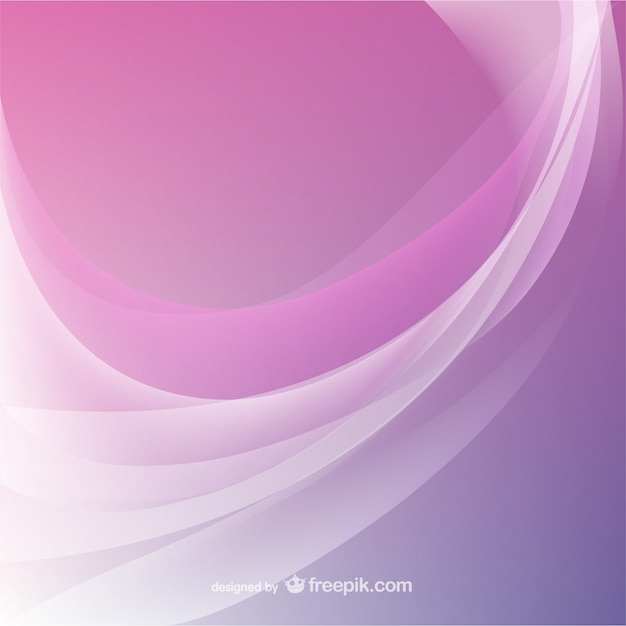 Pink abstract wavy background Vector | Free Download