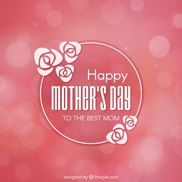 Pink background with blurred effect for mother's day ...
