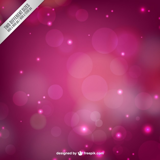 Pink blurred light background Free Vector