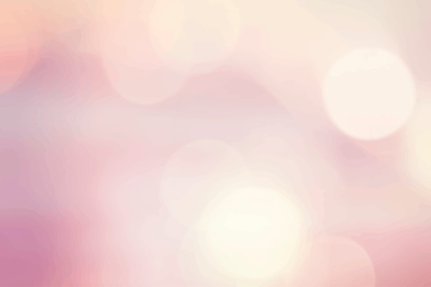 Pink bokeh background Free Vector