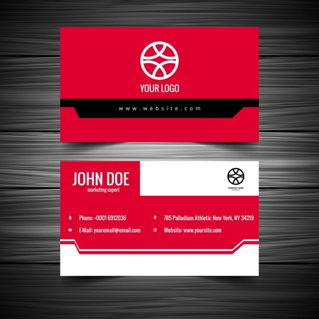 Pink color visiting card vector free download pink color visiting card free vector colourmoves