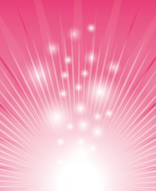 Pink digital design. Premium Vector