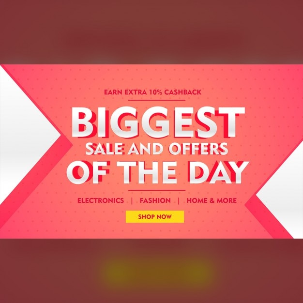 Pink discount voucher Free Vector