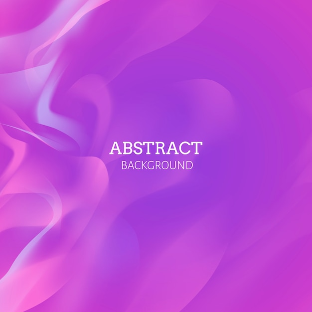 Pink flow background Free Vector