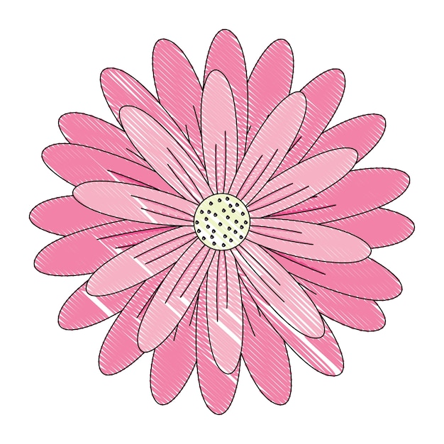 Pink flower icon vector premium download pink flower icon premium vector mightylinksfo Choice Image