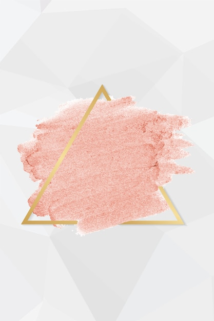 Pink lipstick smudge Free Vector
