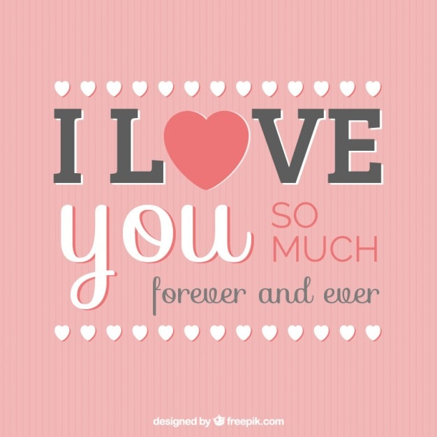 I love you card free vector in open office drawing svg (. Svg.