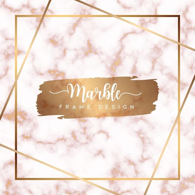 Pink marble textured background vector Premium Vector