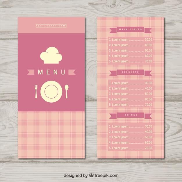 Pastel pink floral wedding menu template flipsnack.