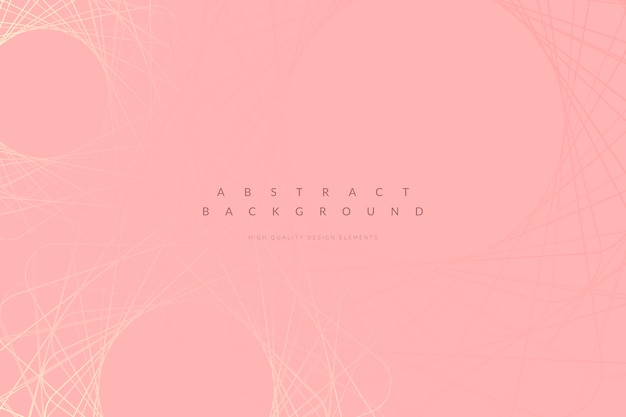 Pink minimal background Free Vector