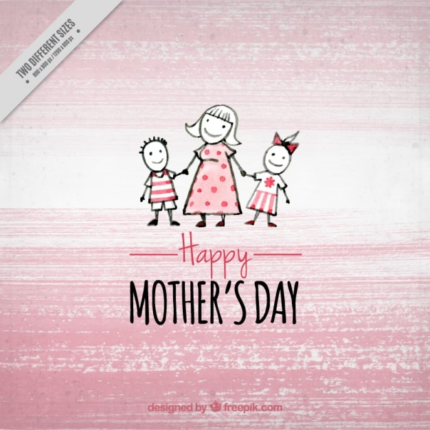 Pink Mother\'s Day background
