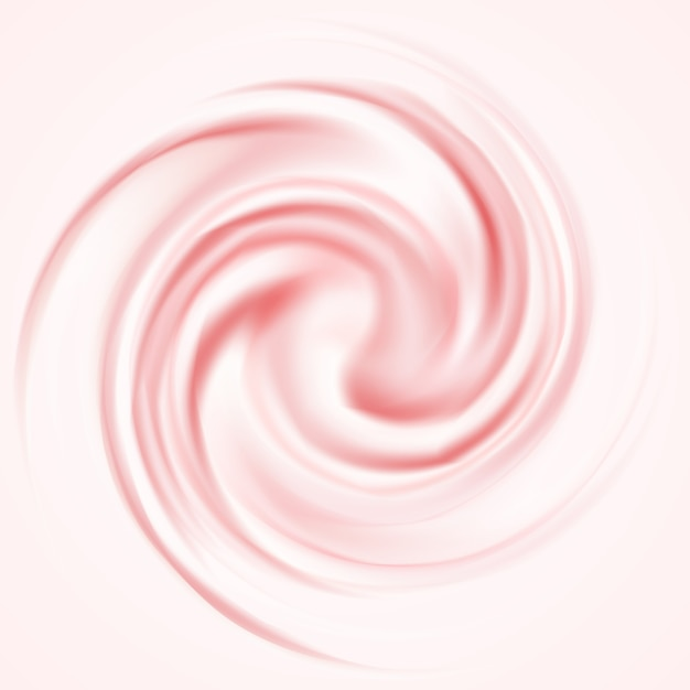 Pink mousse background Free Vector