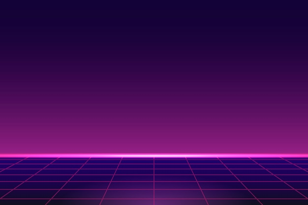 Pink neon background Free Vector