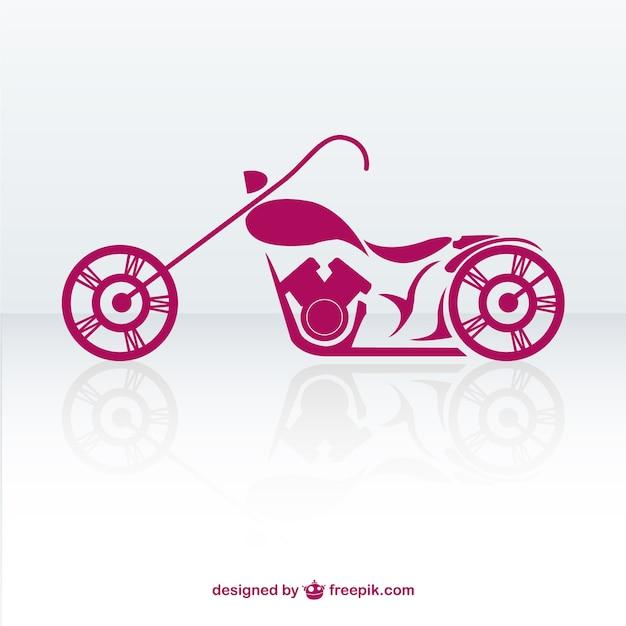 Бесплатно ретро вектор мотоцикл Premium векторы
