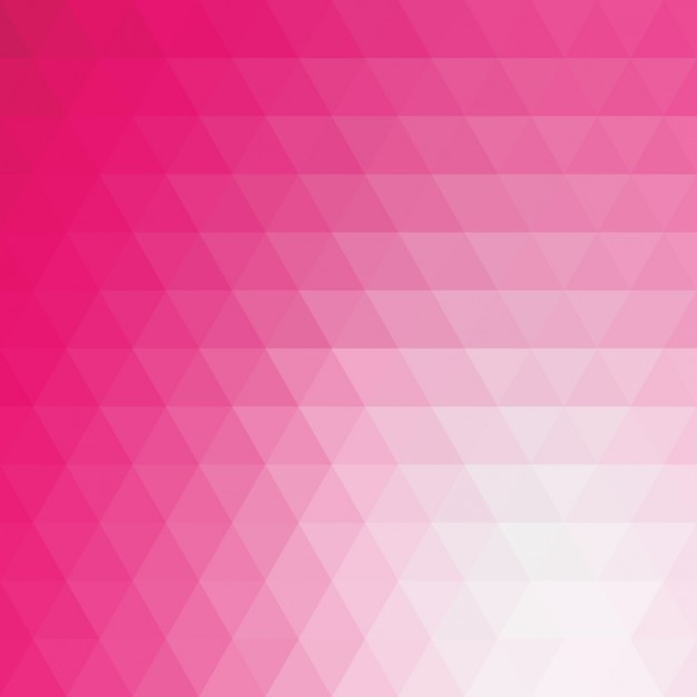pink polygonal background design free vector