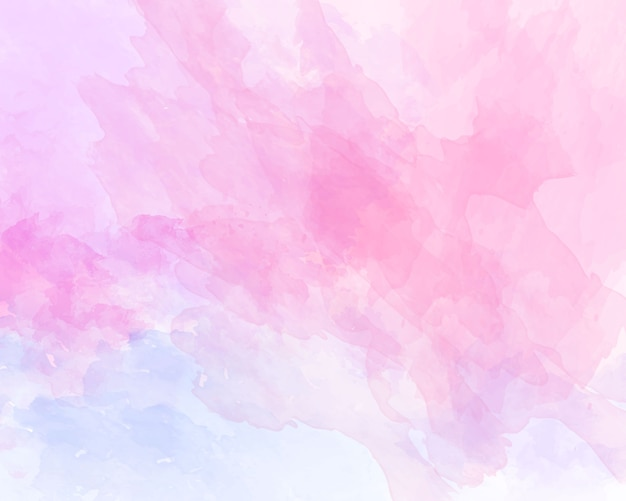 Pink soft watercolor abstract texture. Premium Vector