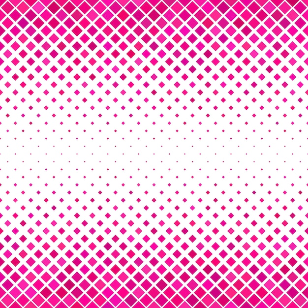 Pink square pattern background - geometrical vector design Free Vector