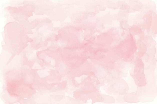 Pink watercolor background Free Vector