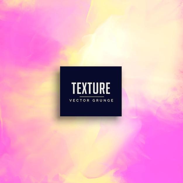 pink watercolor texture background design Premium Vector