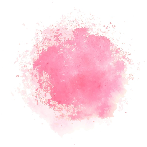 Pink Watercolor Texture_1260616 on Watercolor Heart