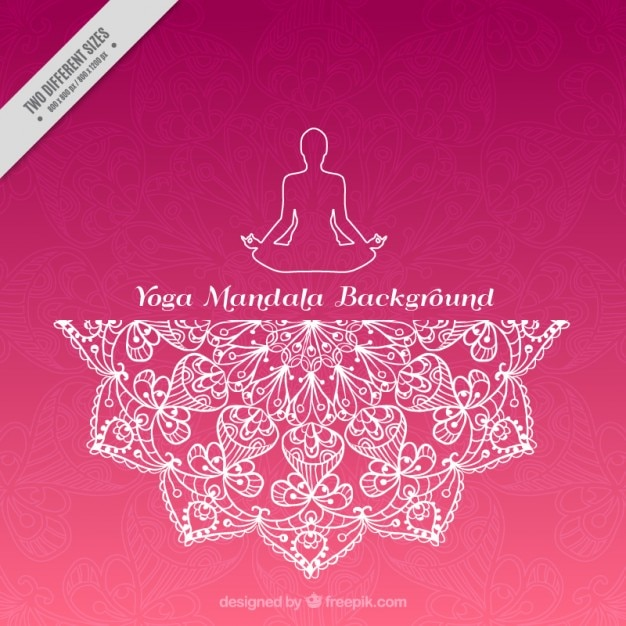 Pink Yoga Background
