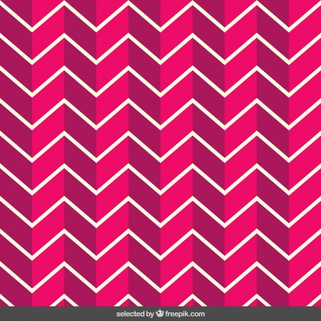 Pink zigzag pattern Vector | Free Download