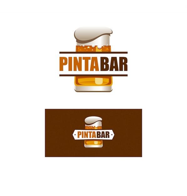 pinta bar logo Free Vector
