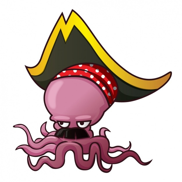 Cartoon octopus vectors photos and psd files free download for Octopus in cartoon