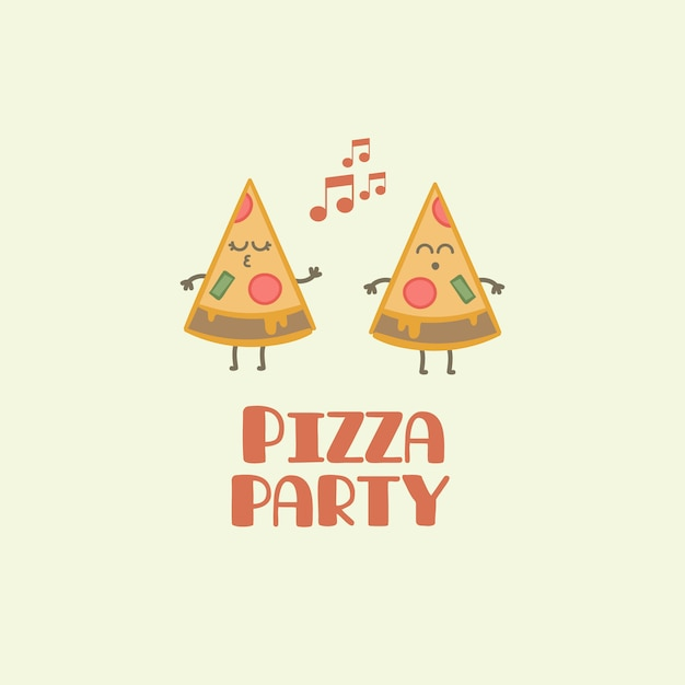 Pizza Party Vectors, Photos and PSD files | Free Download