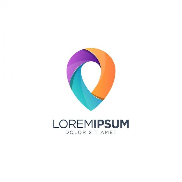 Place logo Premium Vector